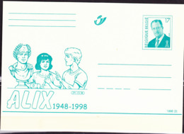 Belgien Belgium Belgique - Postkarte Alix (MiNr: P524) 1998 - Ungebraucht - Entiers Postaux