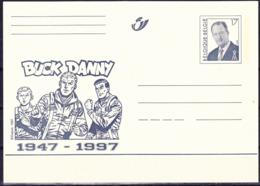 Belgien Belgium Belgique - Postkarte Buck Danny (MiNr: P519) 1997 - Ungebraucht - Entiers Postaux