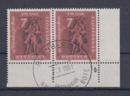 Bund MiNo. 365 Eckpaar Mit Formnummer 4 Auf 2 ESSt - [7] República Federal