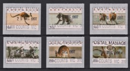 Australia 1994 Koalas & Kangaroos CPS 50c NO OVERPRINT Set Of 6 CTO - 1990-99 Elizabeth II