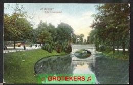 UTRECHT Witte Vrouwenpoort Levendig 1906 Dr. Trenkler Co., Leipzig 1906 Utr.35 Afst. SPAARNDAM - Utrecht