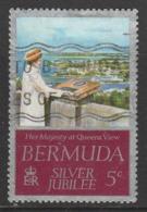 Bermuda 1977 Silver Jubilee 5 C Multicoloured SW 339 O Used - Bermuda