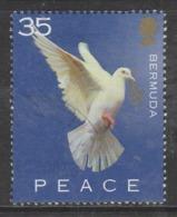 Bermuda 2002 World Peace Day 35 C Multicoloured SW 850 O Used - Bermuda