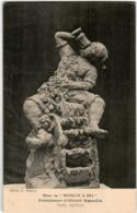 31oom 1937 CPA - DINER DU MOULIN A SEL - PRESIDENCE D'OLIVIER BASSELIN - Sculptures