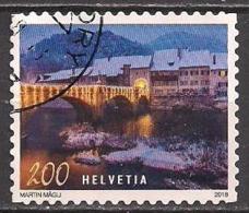 Schweiz  (2018)  Mi.Nr.    Gest. / Used  (10fl22) - Zwitserland