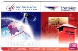 Timbre Stamp Carte Prépayée Card Thaïlande Poste (G 214)) - Timbres & Monnaies