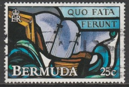 Bermuda 1992 Stained Glass Windows 25 C Multicoloured  SW 620 O Used - Bermuda