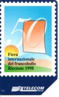 Timbre Stamp  Fête Internationale 1998 Télécarte Telecom  Italie Phonecard  Poste (G 217)) - Timbres & Monnaies