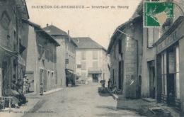 I139 - 38 - SAINT-SIMEON-DE-BRESSIEUX - Isère - Intérieur Du Bourg - Frankrijk