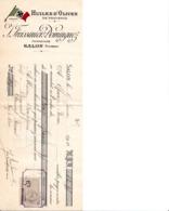 SALON DE PROVENCE FREISSINIER DOMINGUEZ HUILES D OLIVES DE PROVENCE  ANNEE 1910 - France