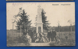 """REMELACH   """" REMILLY """"   Kriegerdenkmal    Animées   écrite En 1917 - Frankreich"""