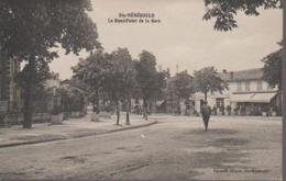 SAINTE MENEHOULD - ROND POINT DE LA GARE - Sainte-Menehould