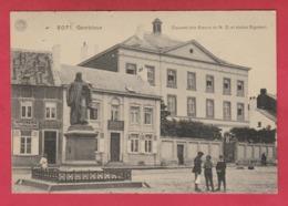 Gembloux - Couvent Des Soeurs De N-D Et Statue Sigebert ... Animation , Imprimerie Tournenenne ( Voir Verso ) - Gembloux
