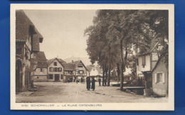 SCHERWILLER    Place   La Ruine Ortenbourg   Animées - Frankreich