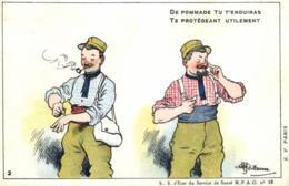 Humoristique - Illustrateur - Guillaume - De Pommade Tu T'enduiras  - D 0096 - Guillaume