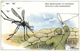 Militaria - Homoristique - Moustiques - Epuisette - D 0080 - Guerra 1914-18