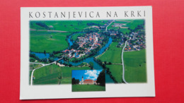 Kostanjevica Na Krki.An Aerial View - Slovenië