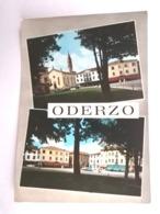 ODERZO     TREVISO    VENETO VIAGGIATA COME DA FOTO Acquerellata - Treviso