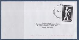 = Cécogramme Enveloppe En Franchise Pour Les Aveugles 31.08.2019 - Civil Frank Covers