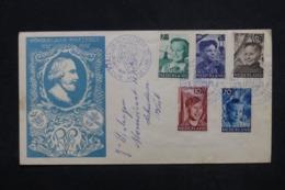 PAYS BAS - Enveloppe FDC En 1951 - Jeunesse - L 45316 - FDC
