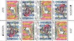 Azerbaijan MNH** 2019 Mi 1465-66 SL Europe Stamps Birds Set - Azerbaïjan