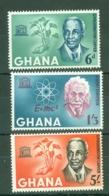 Ghana: 1964   UNESCO Week   MH - Ghana (1957-...)