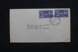 TERRE-NEUVE - Enveloppe De St John's Pour Londres En 1940, Affranchissement Plaisant - L 45321 - 1908-1947