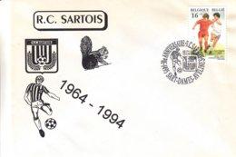 Football - Belgique - Lettre De 1994 - Oblit Sart Les Dames Avelines -  30 Ième Anniversaire R.C. Sartois - Covers & Documents