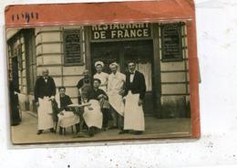 RESTAURANTS DE FRANCE  A Situer - Restaurants