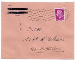 PARIS 61 / Av. De St OUEN(17e) 1968 =  FLAMME SECAP Muette '5 Lignes Ondulées' - Mechanical Postmarks (Advertisement)