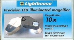 LEUCHTTURM - LOUPE PLIABLE LUMINEUSE LED De PRECISION - Gr 10x (Réf.LU 24 LED) - Pinze, Lenti D'ingrandimento E Microscopi
