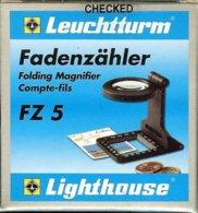 LEUCHTTURM - COMPTE-FILS FZ 5 - Gr 5x (Réf.FZ 5) - Pinze, Lenti D'ingrandimento E Microscopi