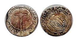 FRANÇOIS Ier Demi-Gros Lorraine FAUTEE (Désaxée) - 476-1789 Feodale Periode