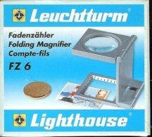 LEUCHTTURM - COMPTE-FILS FZ 6 - Gr 6x (Réf.FZ 6) - Pinze, Lenti D'ingrandimento E Microscopi