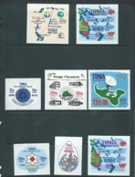 Tonga 1979 Decade Of Progress Self Adhesive Set 13 MNH - Tonga (1970-...)