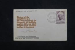 INDE - Enveloppe  FDC En 1967 - Dr. Radhakrishnan- L 45331 - FDC