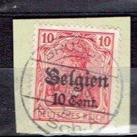 OC 14 - Brussel P.Sch.A. Le 8-10-1918 - WW I