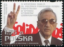 Poland 2009 Forming The Government After The June Elections Tadeusz Mazowiecki MNH** - Ungebraucht