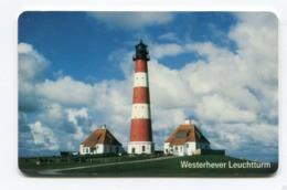 Telecarte °_ Allemagne-PD11-Westerhever Leuchtturm-1998- R/V 1408 - Allemagne