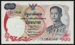 100 Baht Serie 10 Sign. 42 Thailand 1968 UNC - Thailand