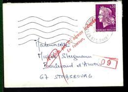 MIGNONETTE CHARGÉE - ERREUR - RETOUR - - Stamps