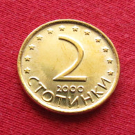 Bulgaria 2 Stotinki 2000 KM# 238 Bulgarie - Bulgaria