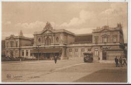 Leuven - Louvain - La Station - Met Tram Reklame Brasserie Breda - Leuven