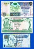 Libye  3  Billets - Libië
