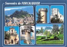 FORCALQUIER  Souvenir  3 (scan Recto Verso)MD2501UND - Forcalquier