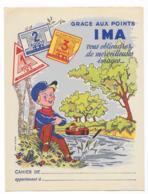 Protége Cahier Ancien Points IMA - Protège-cahiers