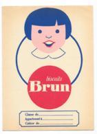 Protége Cahier Ancien Biscuits Bruns - Protège-cahiers