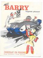 Protége Cahier Barry Chocolat En Poudre - Protège-cahiers