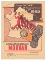 Protége Cahier Semelles, Talons, Chaussures MORVAN Rouge - Protège-cahiers