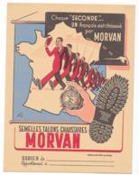 Protége Cahier Semelles, Talons, Chaussures MORVAN Bleu - Protège-cahiers